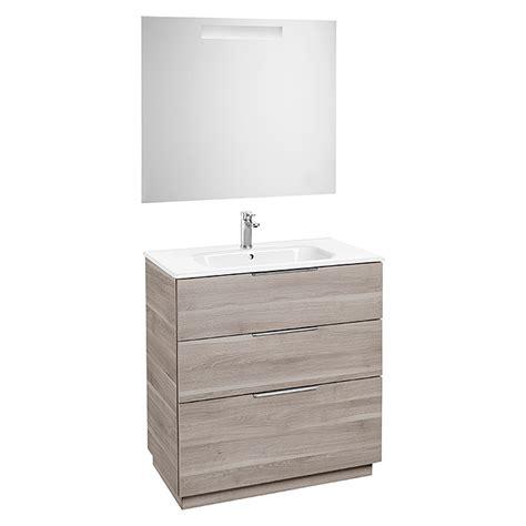 Roca Conjunto de mueble de baño Argus  80 cm, 3 piezas ...