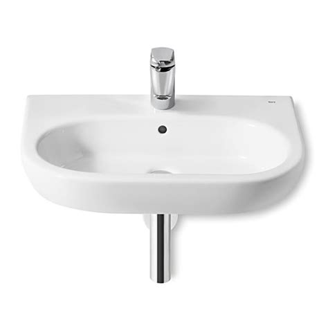 Roca Meridian N Wall Hung Wash Basin 500mm Wide | 327244000