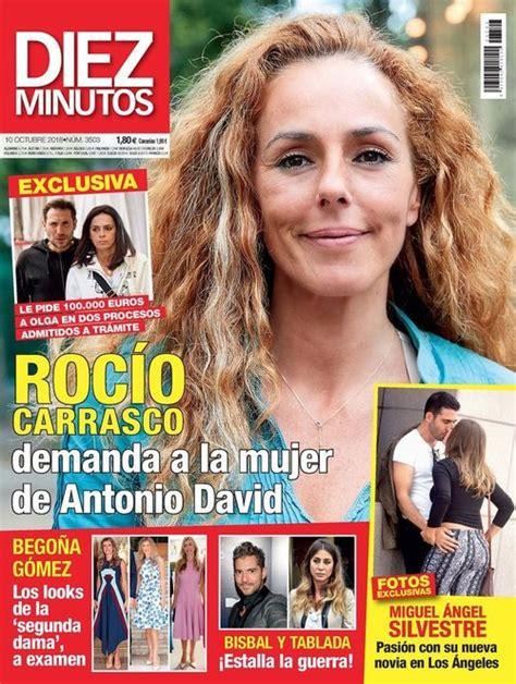 Rocío Carrasco demanda a la mujer de Antonio David Flores ...