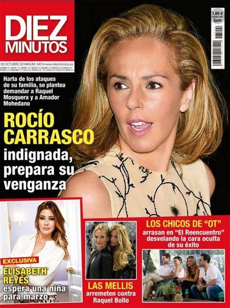 Rocío Carrasco prepara su venganza en Diez Minutos ...