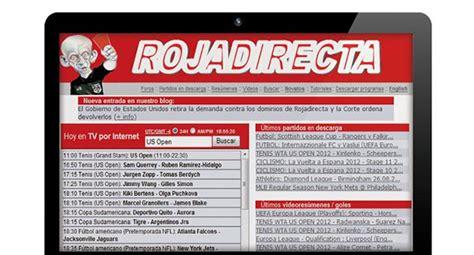 Roja directa ver partidos online en Rojadirecta.me