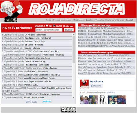 rojadirecta futbol en vivo por internet gratis: Roja ...