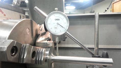 Roller shaft runout test.   YouTube