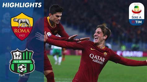 Roma 3 1 Sassuolo   Schick e Zaniolo alla Totti: Roma che ...