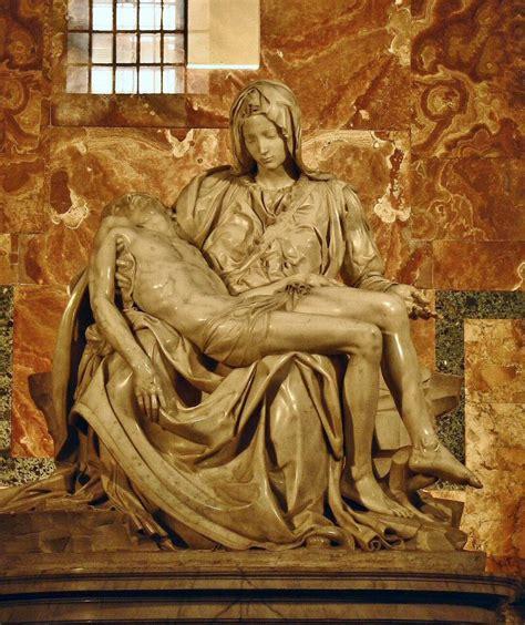 Roma   Escultura La Piedad de Miguel Angel | Viajar a Italia