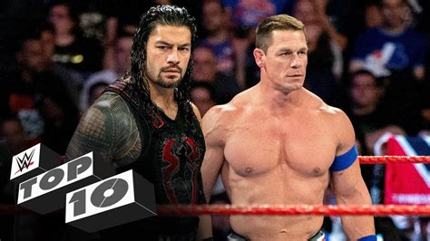 Roman Reigns' unexpected teammates: WWE Top 10, Sept. 28 ...