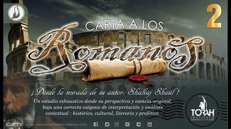 ROMANOS CAPÍTULO 2  Verso por Verso / RAÍCES HEBREAS ...