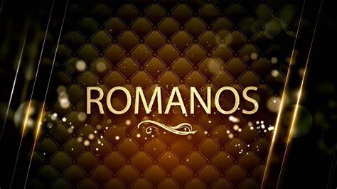 ROMANOS capítulo 7   áudio   YouTube