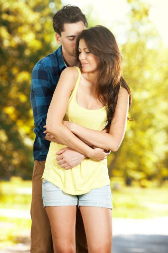 Romantic Young Couple Stock Photo   Download Image Now ...