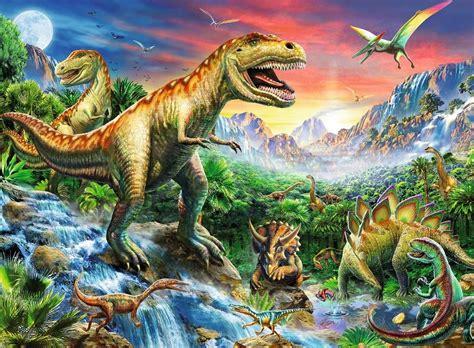 Rompecabezas Infantil Xxl La Era De Los Dinosaurios 100 ...