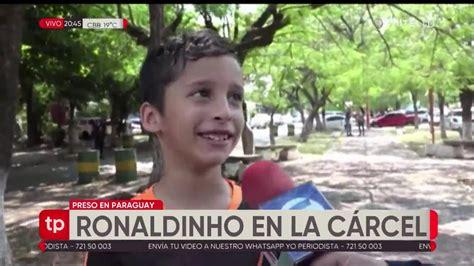 Ronaldinho en la cárcel de Paraguay   YouTube
