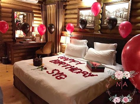 Room decoration for birthday surprise ️ # ...