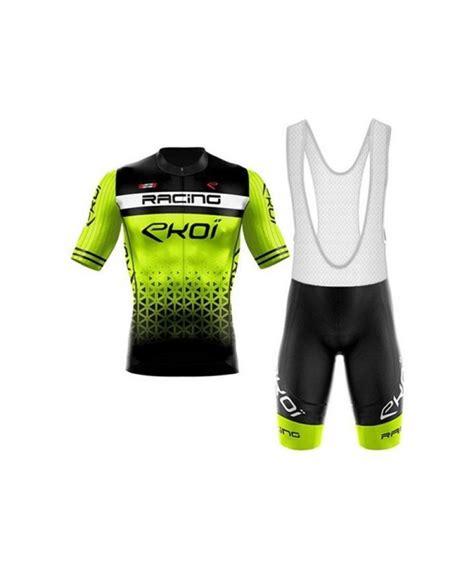 Ropa ciclismo de verano con tirantes EKOI 2020 | Oferta 44...