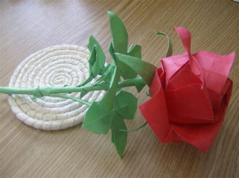 Rosa de papel papiroflexia   Imagui