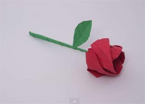 Rosa De Papiroflexia Para Ninos   Flores de Papel