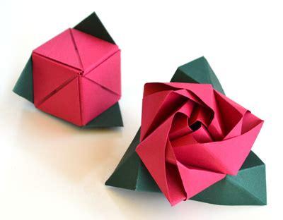 Rosa Feita em Origami   Passos | Artesanato   Cultura Mix