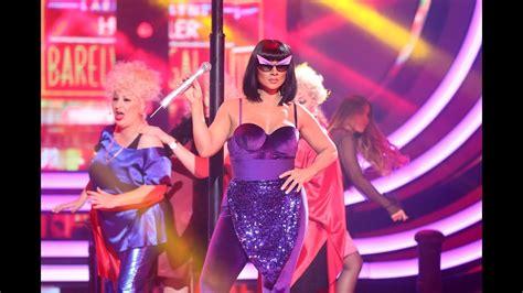 Rosa López imita a Donna Summer   Tu cara me suena   YouTube