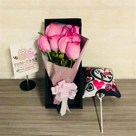Rosas en Caja de Madera Regalo Sorpresa
