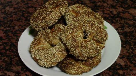 ROSCAS DE PAN TURCO  SIMIT  | recetas de cocina faciles ...