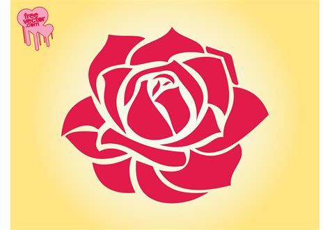 Rose Blossom Graphics   Download Free Vector Art, Stock ...