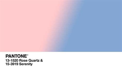 Rose Quartz y Serenity, los colores del 2016