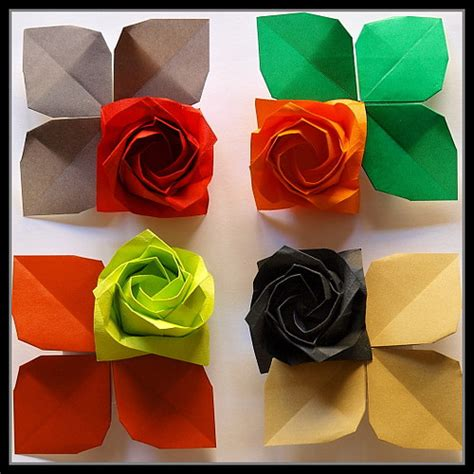 Roses de Paper / Origami Rose   a photo on Flickriver