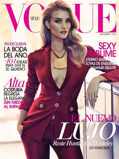 Rosie Huntington Whiteley Throughout the Years in Vogue ...