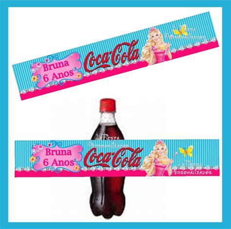 Rótulo Coca Cola Barbie e o Portal Secre no Elo7 ...