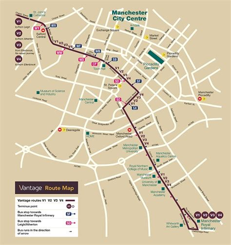 Route Map | Greater Manchester | First Bus