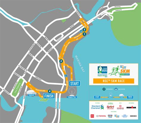 Route Maps Released: Standard Chartered Singapore Marathon ...