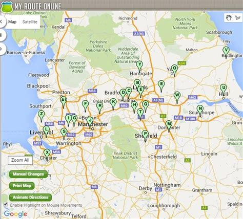 Route Planner UK   Use Our journey Planner to Cut Off ...