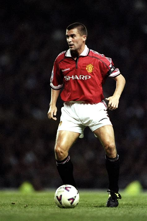 Roy Keane, Manchester United Player of the Year 1998/99 ...