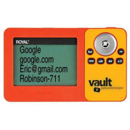Royal 39226U PV1 Digital Password Vault   Walmart.com