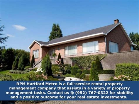 RPM Hartford Metro   Rental management Company in Connecticut