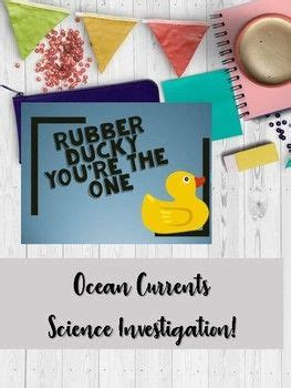 Rubber Ducky You re the One   Ocean Current Investigation ...