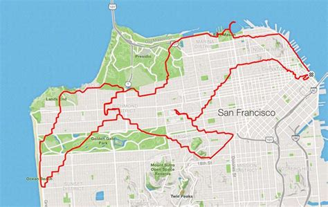 Runner Uses The Streets As His Canvas, Maps Out Artistic ...