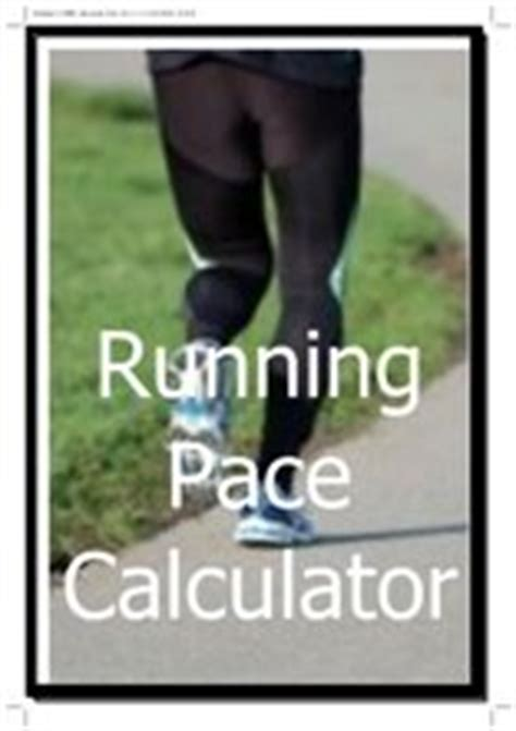 Running Calculators   Training Pace, Race Times, Calorie ...