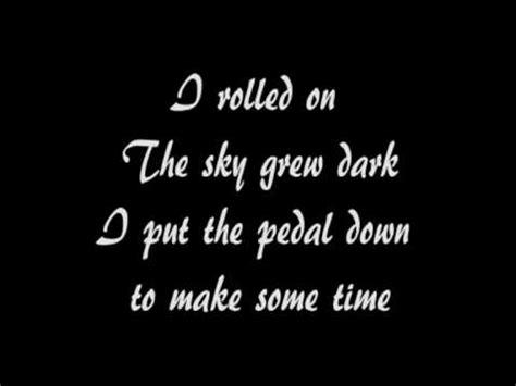 running Down A dream lyrics   YouTube