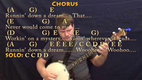 Running Down A Dream  Tom Petty  Banjo Cover Lesson with ...