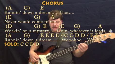 Running Down A Dream  Tom Petty  Bass Guitar Cover Lesson ...