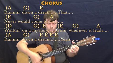Running Down A Dream  Tom Petty  Guitar Lesson Chord Chart ...