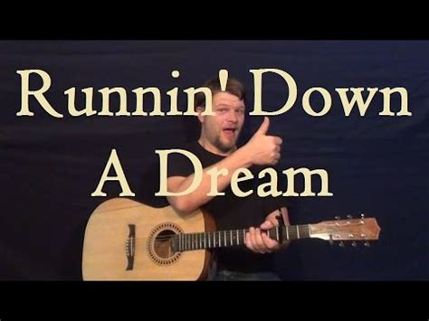 Running Down a Dream  TOM PETTY  How to Play Easy Guitar ...