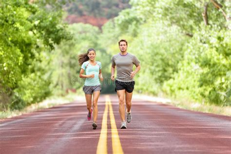 Running Health And Fitness   Runners Jogging Stock Image ...