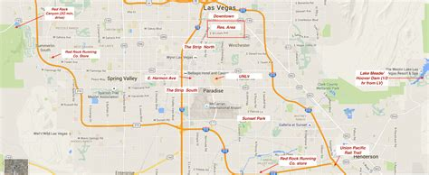 Running in Las Vegas, Nevada. Best routes and places to ...