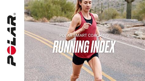 Running Index | Find out your running VO2max | Polar Smart ...