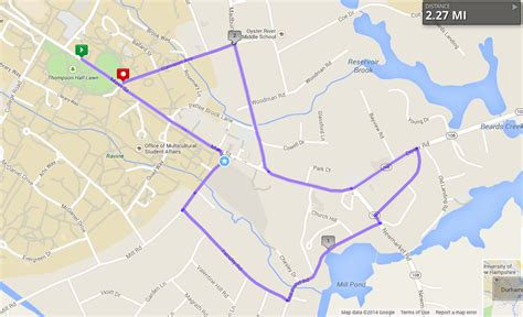 Running Routes around UNH s Campus | UNH Tales