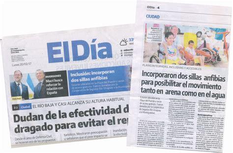 RUS en el Diario El Día de Gualeguaychú – RUS Media
