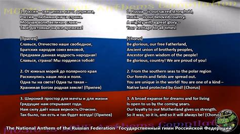 Russia National Anthem with music, vocal and lyrics ...