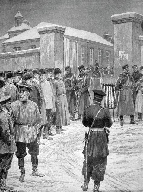 Russian Revolution Of 1905 Painting by Granger