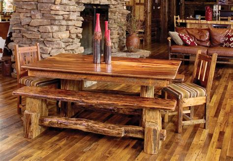 Rustic Dining Room Furniture Bringing Cozy Nature ...
